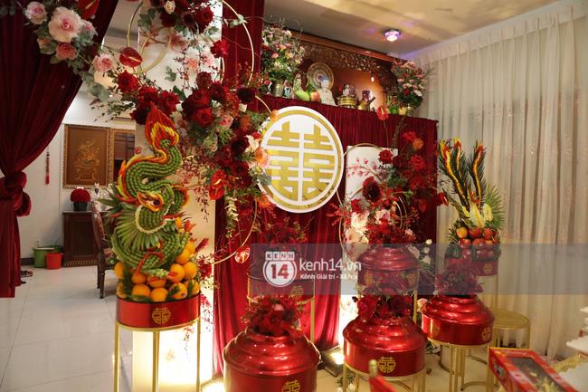 Sát giờ diễn ra lễ cưới, Đông Nhi nhá hàng khung cảnh tràn ngập hoa được chuẩn bị cho lễ vu quy, người hâm mộ thi nhau vào chúc mừng-6