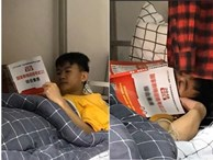 Nam sinh 'thiếu nghị lực nhất năm': Khẳng định hùng hồn lên giường nằm học cho ấm, 5 phút sau quay ra đã thấy ngủ khò khò