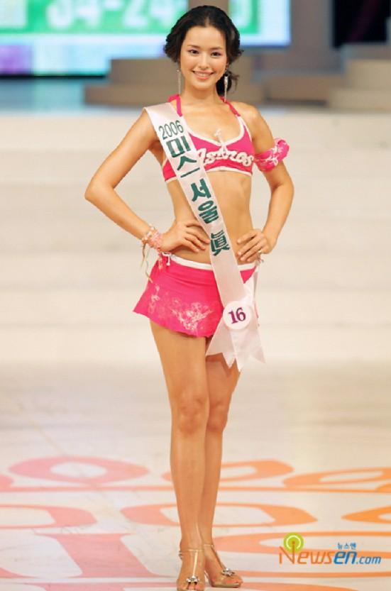 Vẻ gợi cảm của hoa hậu đẹp nhất Hàn Quốc-1