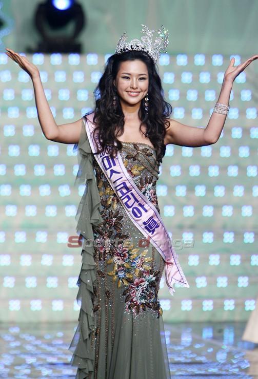 Vẻ gợi cảm của hoa hậu đẹp nhất Hàn Quốc-2