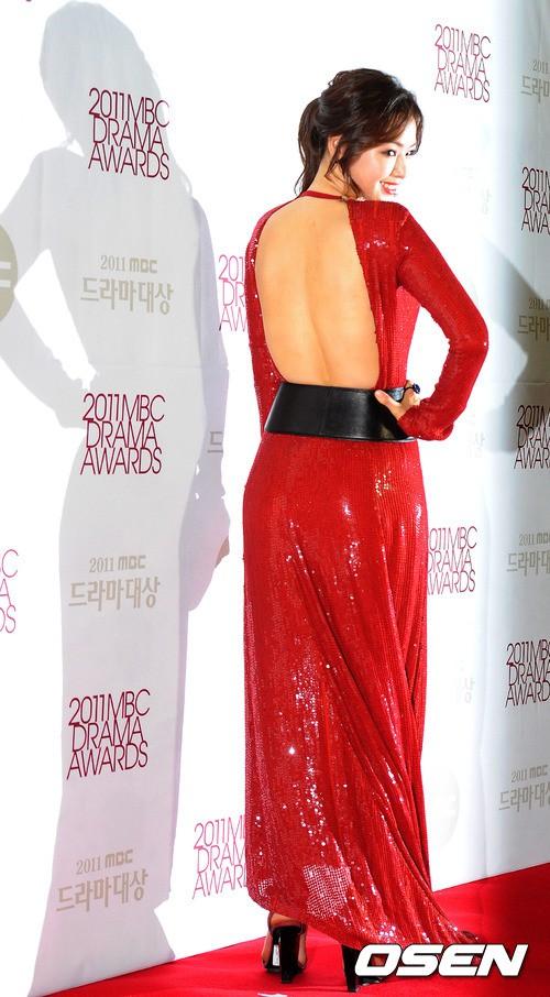 Vẻ gợi cảm của hoa hậu đẹp nhất Hàn Quốc-8