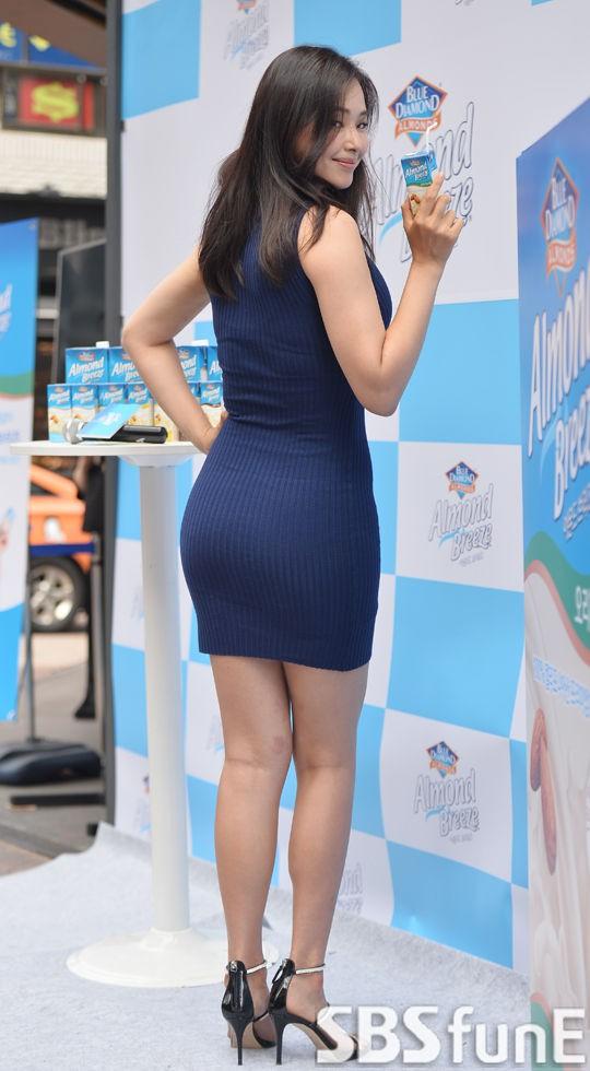 Vẻ gợi cảm của hoa hậu đẹp nhất Hàn Quốc-9