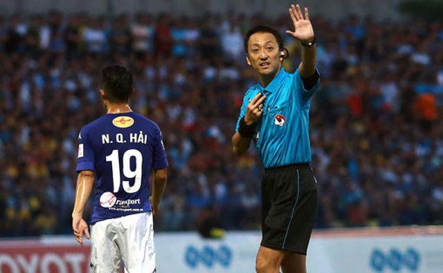 Trọng tài người Nhật điều khiển trận đội tuyển Việt Nam tiếp UAE-1