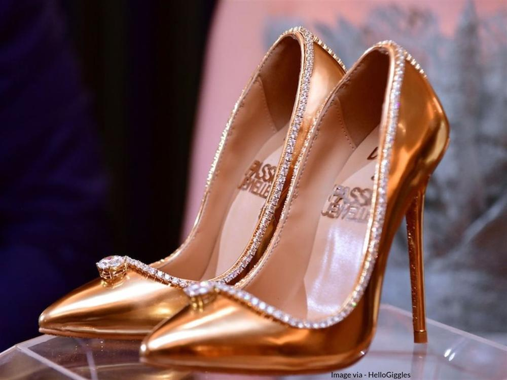 Những đôi giày đính kim cương, dát vàng có giá tới 20 triệu USD-2