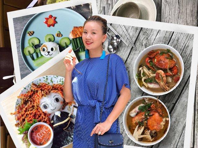 Hoa hậu bỏ showbiz về nấu cơm cho chồng, nhìn mâm cơm ai cũng ngỡ ngàng-1