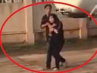 Giải cứu cô gái bị gã đàn ông dùng dao khống chế
