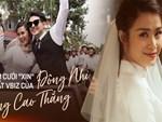 Clip từ Phú Quốc: Đông Nhi cười tươi hết cỡ, bất chấp mệt mỏi cùng ê-kíp gấp rút chuẩn bị lễ cưới tới tối muộn-11