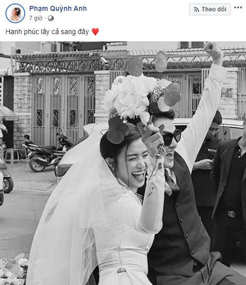 Dàn sao Việt đã cùng nói điều này khi Đông Nhi trở thành vợ Ông Cao Thắng sau 10 năm-1