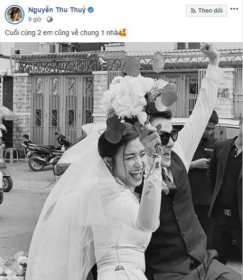 Dàn sao Việt đã cùng nói điều này khi Đông Nhi trở thành vợ Ông Cao Thắng sau 10 năm-6
