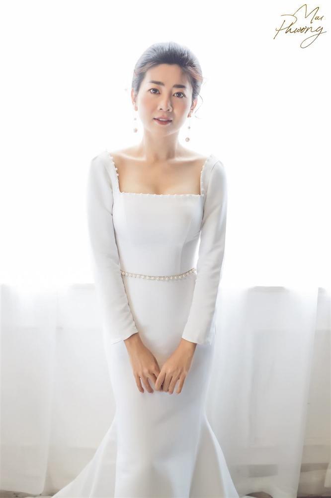 Mai Phương diện váy bó sát, tươi tắn khi sức khỏe ngày càng hồi phục-2