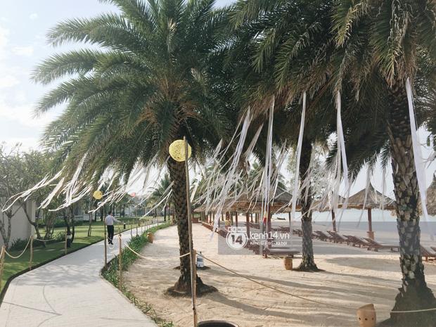 Không gian lễ cưới Đông Nhi - Ông Cao Thắng đã hoàn thiện, đẹp lung linh như cổ tích giữa biển đảo Phú Quốc-5