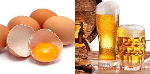 Chuẩn bị 1 bia, 1 trứng gà bạn sẽ có làn da trắng mịn hơn dùng kem trộn nhiều lần-1