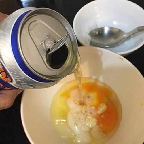 Chuẩn bị 1 bia, 1 trứng gà bạn sẽ có làn da trắng mịn hơn dùng kem trộn nhiều lần-4