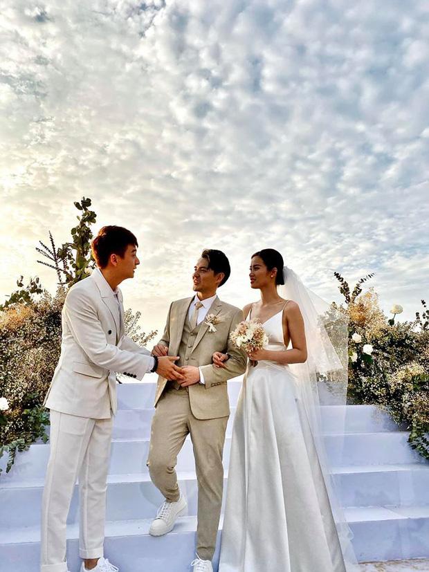 Câu nói gây sốc của Trấn Thành trong lễ cưới Đông Nhi - Ông Cao Thắng: Người ta hoài nghi có tình yêu 10 năm hay không đến Hari Won 9 năm còn gãy cơ mà-4
