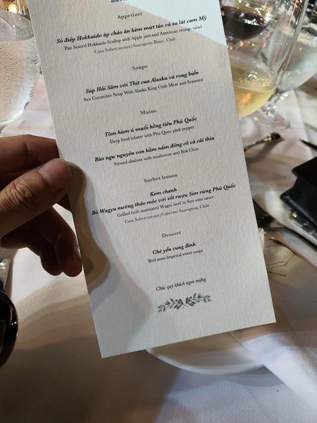 Thực đơn đắt khủng khiếp trong đám cưới của Ông Cao Thắng và Đông Nhi-2