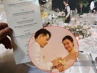 Thực đơn đắt 'khủng khiếp' trong đám cưới của Ông Cao Thắng và Đông Nhi