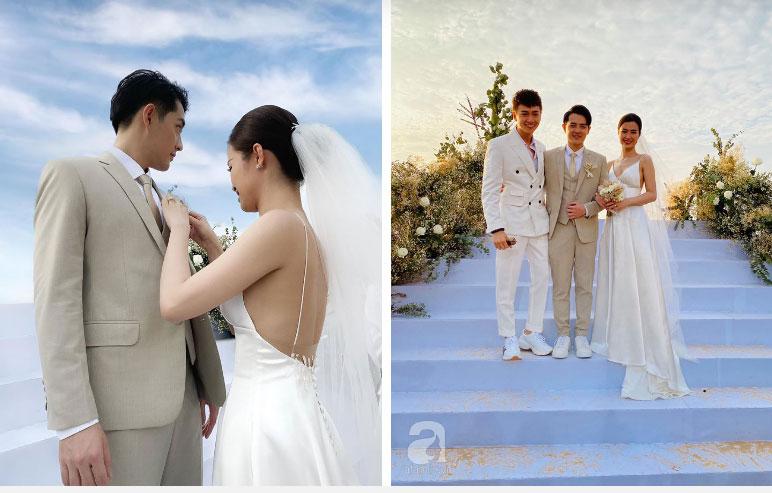 3 váy cưới thay như chạy sô của Đông Nhi: Từ sexy tới kiêu sa, rồi lại sang chảnh như công nương Hoàng gia-1