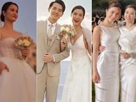 3 váy cưới thay như chạy sô của Đông Nhi: Từ sexy tới kiêu sa, rồi lại sang chảnh như công nương Hoàng gia