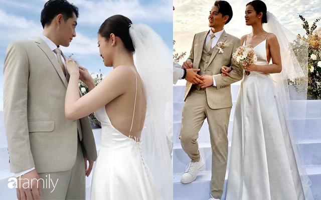 Cứ mải chú ý đến cô dâu, chú rể Ông Cao Thắng cũng không kém cạnh thay tới 3 bộ lễ phục-1