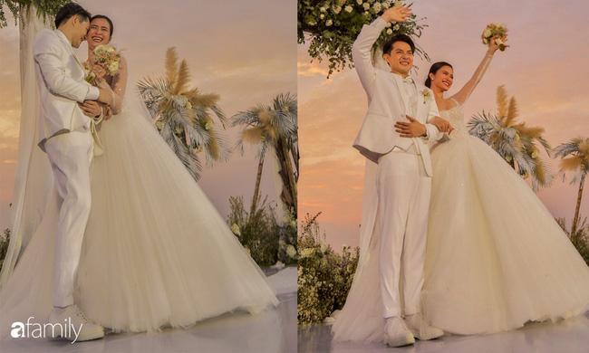 Cứ mải chú ý đến cô dâu, chú rể Ông Cao Thắng cũng không kém cạnh thay tới 3 bộ lễ phục-2