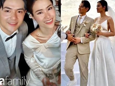 Cứ mải chú ý đến cô dâu, chú rể Ông Cao Thắng cũng không kém cạnh thay tới 3 bộ lễ phục