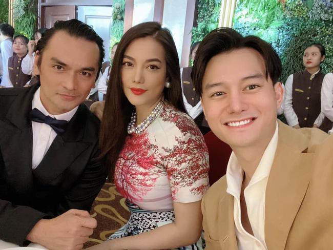 Sau thời gian bị đồn hẹn hò, Trương Ngọc Ánh lại xuất hiện bên cạnh diễn viên Sống chung với mẹ chồng Anh Dũng-1