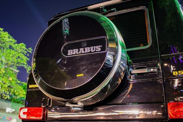 Cận cảnh hàng độc Brabus G850 tại Việt Nam-11
