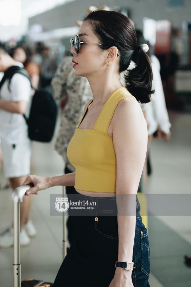 Dàn sao Vbiz đổ bộ sân bay rời Phú Quốc: Người thấm mệt, người vẫn tươi rói sau đêm quẩy nhiệt tại đám cưới Đông Nhi-5