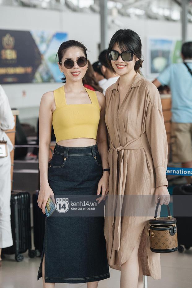 Dàn sao Vbiz đổ bộ sân bay rời Phú Quốc: Người thấm mệt, người vẫn tươi rói sau đêm quẩy nhiệt tại đám cưới Đông Nhi-6