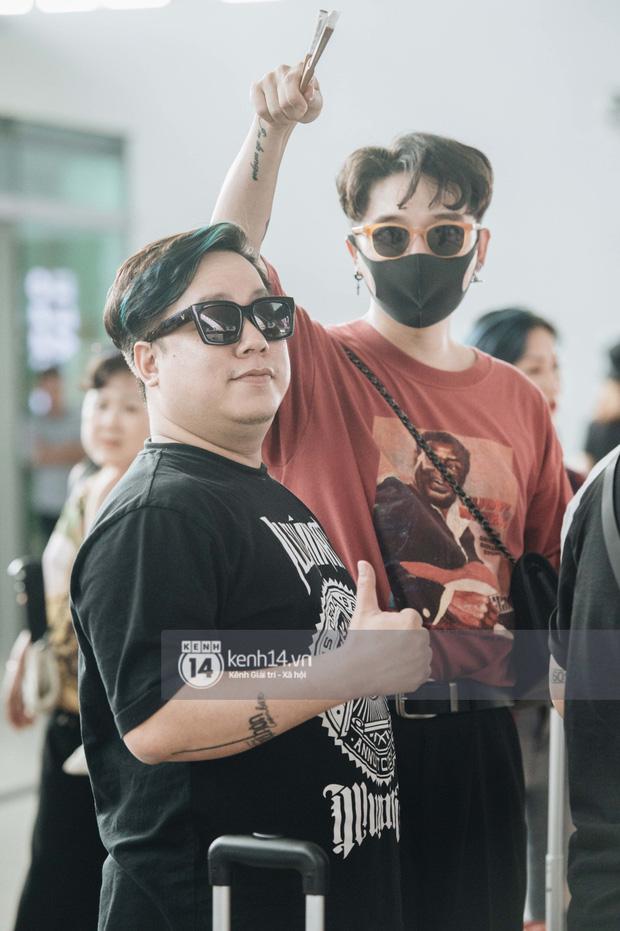 Dàn sao Vbiz đổ bộ sân bay rời Phú Quốc: Người thấm mệt, người vẫn tươi rói sau đêm quẩy nhiệt tại đám cưới Đông Nhi-21