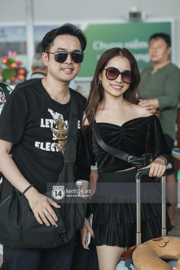 Dàn sao Vbiz đổ bộ sân bay rời Phú Quốc: Người thấm mệt, người vẫn tươi rói sau đêm quẩy nhiệt tại đám cưới Đông Nhi-15