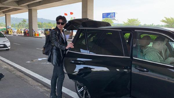 Ngô Thanh Vân đi xe VinFast dự đám cưới Đông Nhi-5