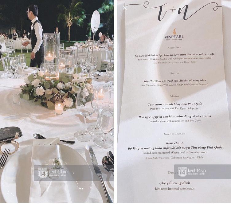 """Đọ"""" thử bữa tiệc đám cưới của các sao Việt: mỗi thực đơn một khác nhưng toàn là món đắt tiền và khó kiếm-1"""