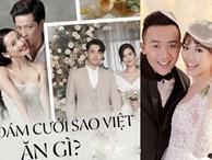 """""""Đọ"""" thử bữa tiệc đám cưới của các sao Việt: mỗi thực đơn một khác nhưng toàn là món đắt tiền và khó kiếm"""