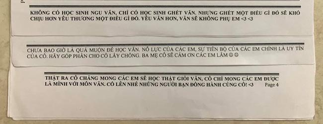 Muốn học sinh học tập chăm chỉ, cô giáo Văn kỳ công viết những lời nhắn nhủ, đọc xong ai cũng ôm bụng cười vì giúp cô thoát ế-1