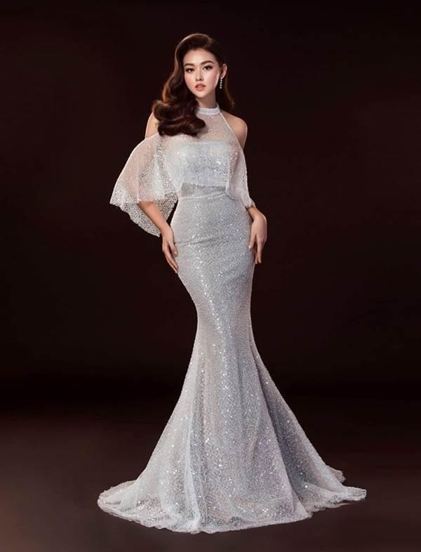 Sát chung kết, Tường San hé lộ 2 bộ váy dạ hội lộng lẫy khiến fan choáng ngợp-1