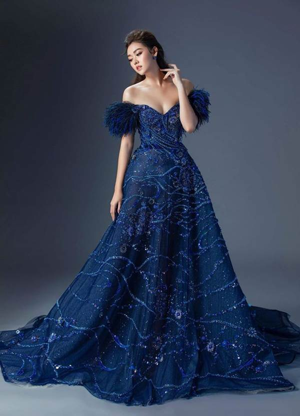 Sát chung kết, Tường San hé lộ 2 bộ váy dạ hội lộng lẫy khiến fan choáng ngợp-4