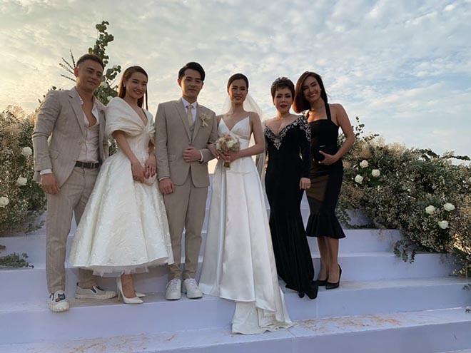 Suốt 2 năm không dự tiệc cưới đồng nghiệp, vì sao Việt Hương lại tới Phú Quốc chúc mừng Đông Nhi?-1