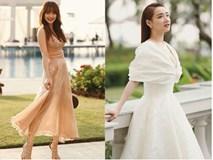 Nhã Phương liên tiếp gây thương nhớ với đầm trắng - Minh Hằng là khách mời mặc đẹp nhất đám cưới Đông Nhi