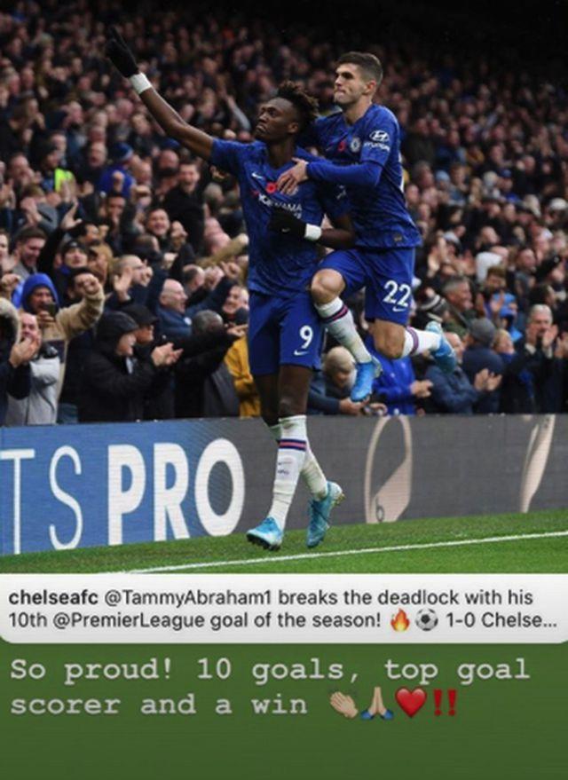 """Tiền đạo trẻ của Chelsea được bạn gái xinh đẹp tâng lên mây xanh""""-1"""