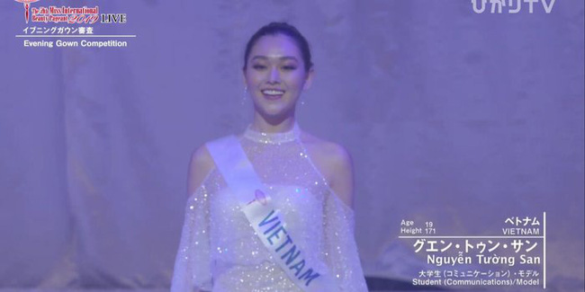 Người đẹp Thái Lan đăng quang Hoa hậu Quốc tế 2019, Tường San dừng chân top 8-5