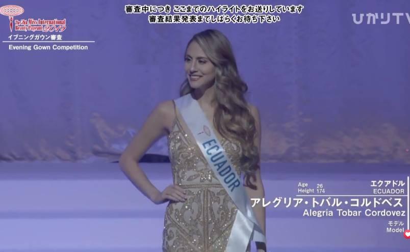 Người đẹp Thái Lan đăng quang Hoa hậu Quốc tế 2019, Tường San dừng chân top 8-7