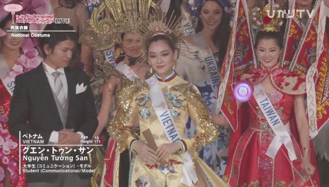 Người đẹp Thái Lan đăng quang Hoa hậu Quốc tế 2019, Tường San dừng chân top 8-11