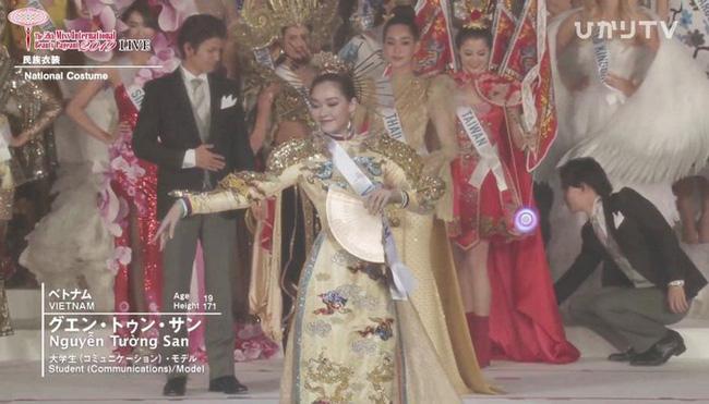 Người đẹp Thái Lan đăng quang Hoa hậu Quốc tế 2019, Tường San dừng chân top 8-13