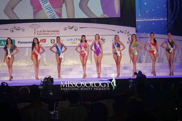 Người đẹp Thái Lan đăng quang Hoa hậu Quốc tế 2019, Tường San dừng chân top 8-2