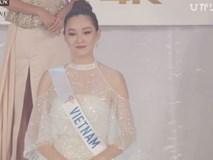 Người đẹp Thái Lan đăng quang Hoa hậu Quốc tế 2019, Tường San dừng chân top 8