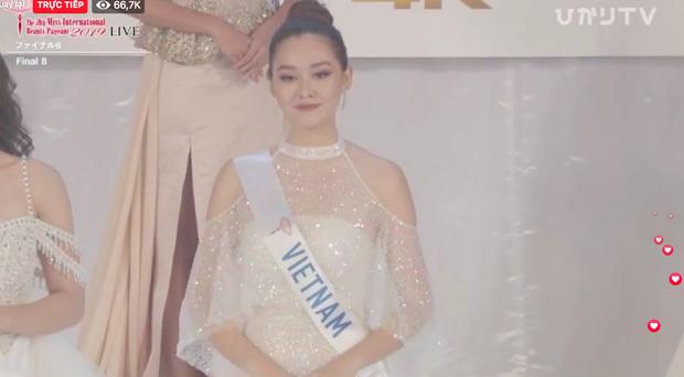 Người đẹp Thái Lan đăng quang Hoa hậu Quốc tế 2019, Tường San dừng chân top 8-1