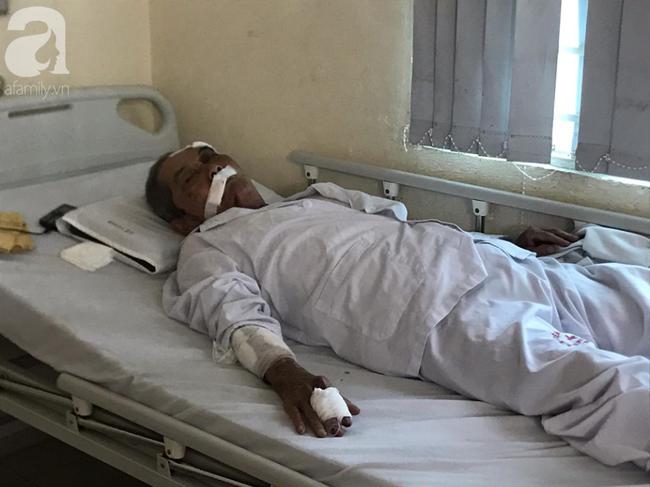 Gia cảnh khốn khó của cụ ông xe ôm 80 tuổi bị đồng nghiệp đánh nhập viện vì giành chỗ đón khách-1