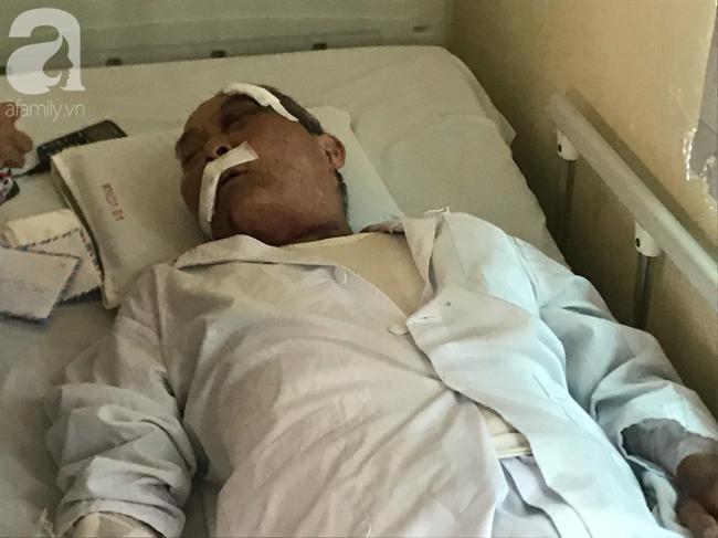 Gia cảnh khốn khó của cụ ông xe ôm 80 tuổi bị đồng nghiệp đánh nhập viện vì giành chỗ đón khách-4
