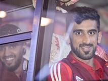 Đội tuyển UAE đi chuyên cơ, tới Việt Nam lúc nửa đêm